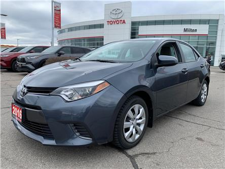 2016 Toyota Corolla LE (Stk: 608230) in Milton - Image 1 of 12
