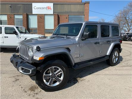 2021 Jeep Wrangler Unlimited Sahara (Stk: C5749) in Concord - Image 1 of 5