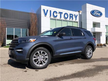 2021 Ford Explorer XLT (Stk: VEX20026) in Chatham - Image 1 of 18