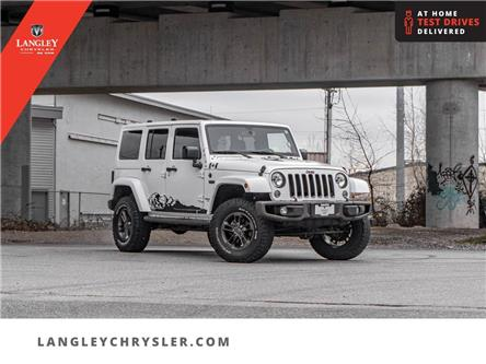 2016 Jeep Wrangler Unlimited Sahara (Stk: M661331A) in Surrey - Image 1 of 27