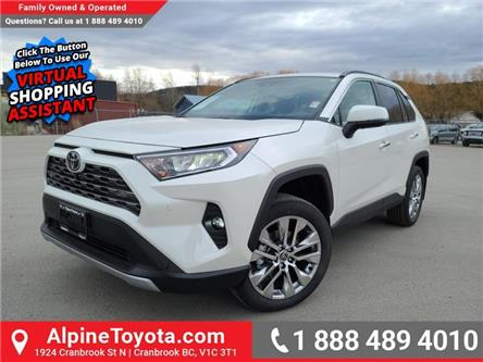 2021 Toyota RAV4 Limited (Stk: W185708) in Cranbrook - Image 1 of 27