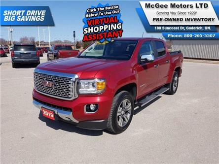 2019 GMC Canyon Denali (Stk: 179610) in Goderich - Image 1 of 29