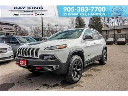 2018 Jeep Cherokee Trailhawk (Stk: 217510A) in Hamilton - Image 1 of 26