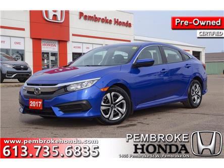 2017 Honda Civic LX (Stk: 21066A) in Pembroke - Image 1 of 26
