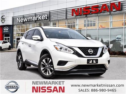 2017 Nissan Murano S (Stk: UN1223) in Newmarket - Image 1 of 21