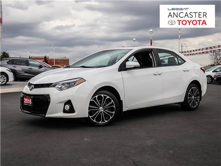 2016 Toyota Corolla S (Stk: 4125) in Ancaster - Image 1 of 28