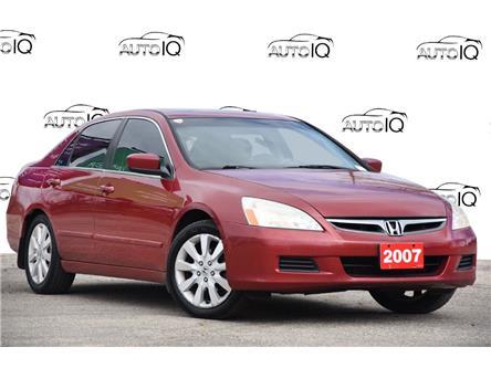 2007 Honda Accord EX V6 (Stk: 153140AXZ) in Kitchener - Image 1 of 20