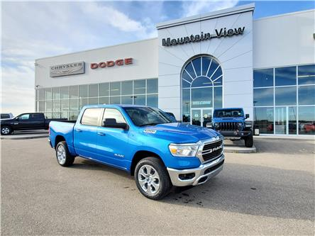 2021 RAM 1500 Big Horn (Stk: AM012) in Olds - Image 1 of 30