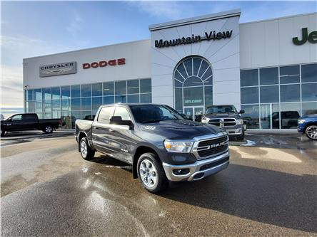 2021 RAM 1500 Big Horn (Stk: AM006) in Olds - Image 1 of 30