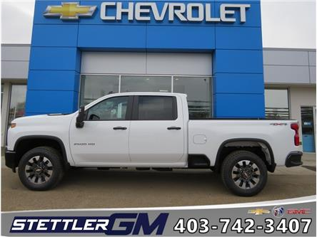 2021 Chevrolet Silverado 2500HD Custom (Stk: 21102) in STETTLER - Image 1 of 19