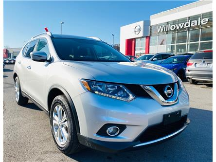 2016 Nissan Rogue SV (Stk: N1628A) in Thornhill - Image 1 of 20