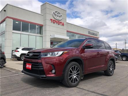 2018 Toyota Highlander XLE (Stk: 113548A) in Woodstock - Image 1 of 25