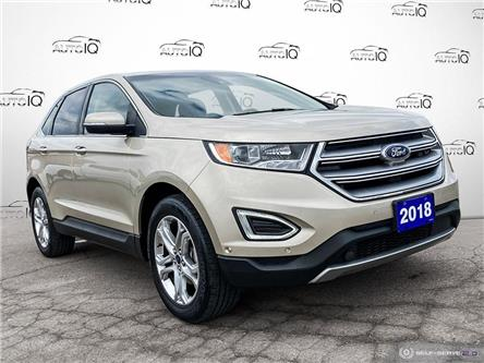 2018 Ford Edge Titanium (Stk: 7077A) in St. Thomas - Image 1 of 30