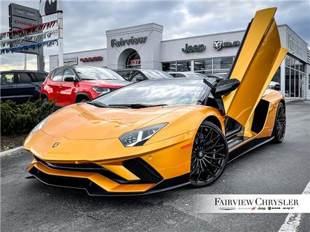 2019 Lamborghini Aventador S | ROADSTER | CARBON INTERIOR | SENSONUM AUDIO | (Stk: U18427) in Burlington - Image 1 of 20