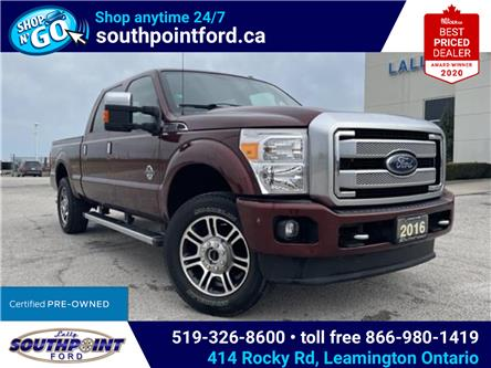 2016 Ford F-250 Lariat (Stk: S6910A) in Leamington - Image 1 of 27