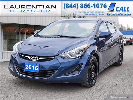 2016 Hyundai Elantra GL (Stk: 21205A) in Sudbury - Image 1 of 24