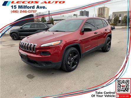 2014 Jeep Cherokee Sport (Stk: 127152) in Toronto - Image 1 of 10