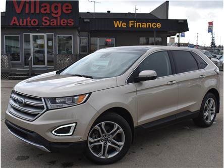 2018 Ford Edge Titanium (Stk: P38261) in Saskatoon - Image 1 of 23
