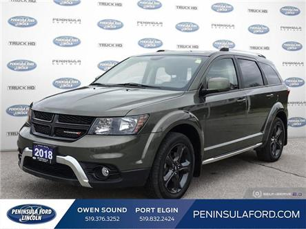 2018 Dodge Journey Crossroad (Stk: 21RA07A) in Owen Sound - Image 1 of 25