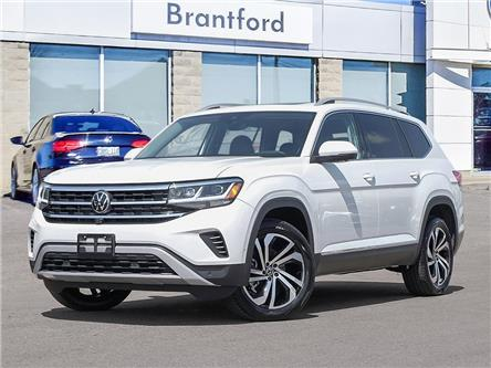 2021 Volkswagen Atlas 3.6 FSI Execline (Stk: AT21747) in Brantford - Image 1 of 10