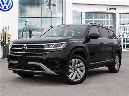 2021 Volkswagen Atlas 3.6 FSI Highline (Stk: A21036) in Sault Ste. Marie - Image 1 of 23