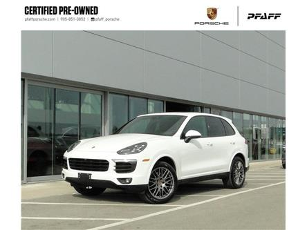 2018 Porsche Cayenne Platinum Edition (Stk: U9460) in Vaughan - Image 1 of 29