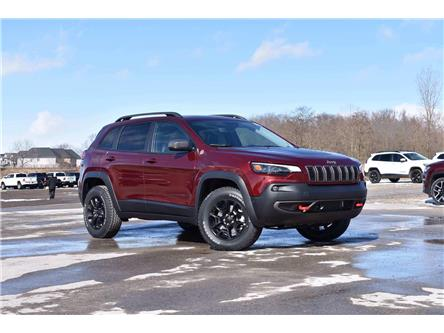 2021 Jeep Cherokee Trailhawk (Stk: 21318) in London - Image 1 of 19
