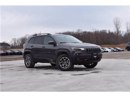 2021 Jeep Cherokee Trailhawk (Stk: 21350) in London - Image 1 of 21