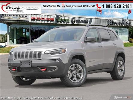 2021 Jeep Cherokee Trailhawk (Stk: N21079) in Cornwall - Image 1 of 23