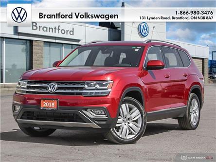 2018 Volkswagen Atlas 3.6 FSI Execline (Stk: P65173) in Brantford - Image 1 of 27