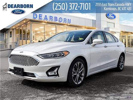 2020 Ford Fusion Hybrid Titanium (Stk: ZL046) in Kamloops - Image 1 of 26