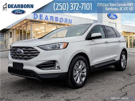 2021 Ford Edge Titanium (Stk: EM107) in Kamloops - Image 1 of 26