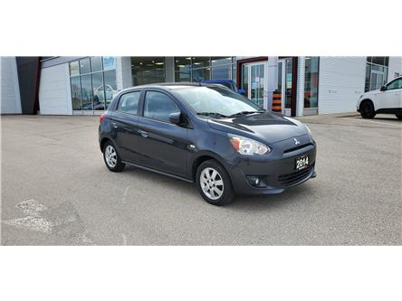 2014 Mitsubishi Mirage SE (Stk: PM21002B) in Owen Sound - Image 1 of 14