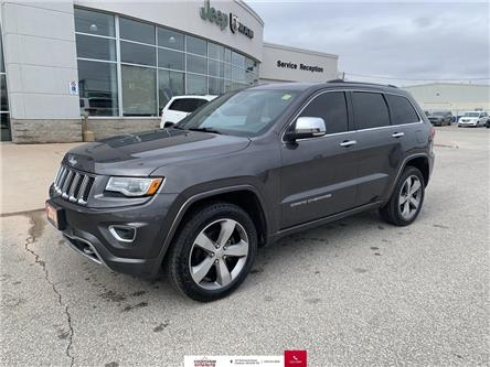 2014 Jeep Grand Cherokee Overland (Stk: U04713A) in Chatham - Image 1 of 28