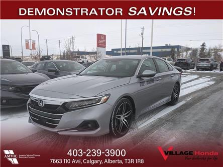 2021 Honda Accord Touring 2.0T (Stk: AL0236) in Calgary - Image 1 of 3