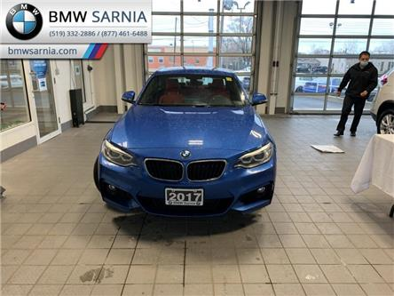 2017 BMW 230i xDrive (Stk: BU854) in Sarnia - Image 1 of 10