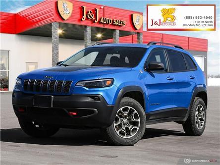2020 Jeep Cherokee Trailhawk (Stk: J21034) in Brandon - Image 1 of 27