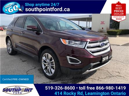 2018 Ford Edge Titanium (Stk: S10629) in Leamington - Image 1 of 27