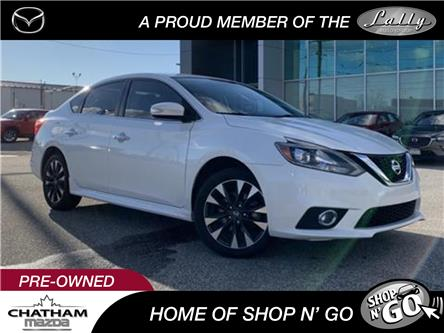 2017 Nissan Sentra 1.6 SR Turbo (Stk: UM2560) in Chatham - Image 1 of 24