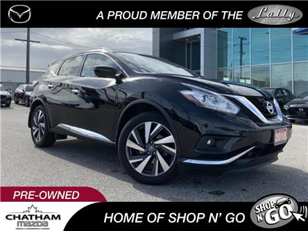 2018 Nissan Murano Platinum (Stk: UM2568) in Chatham - Image 1 of 23