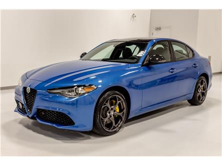 2021 Alfa Romeo Giulia ti (Stk: ARE0114) in Edmonton - Image 1 of 11