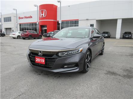 2019 Honda Accord Sport 2.0T (Stk: VA4116) in Ottawa - Image 1 of 18