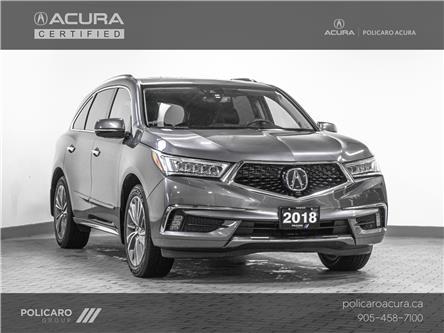 2018 Acura MDX Elite Package (Stk: J800079T) in Brampton - Image 1 of 29