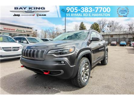 2021 Jeep Cherokee Trailhawk (Stk: 46978718) in Hamilton - Image 1 of 29