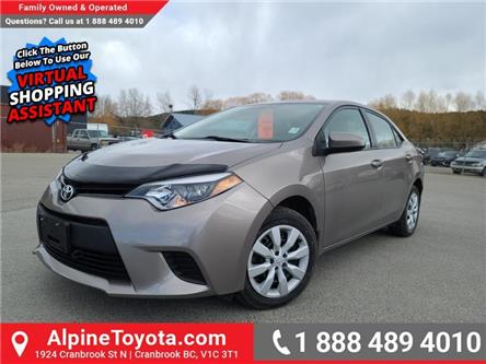 2014 Toyota Corolla LE (Stk: P218658A) in Cranbrook - Image 1 of 21