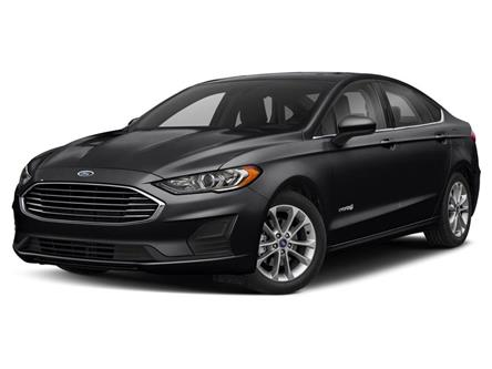 2019 Ford Fusion Hybrid Titanium (Stk: 445UB) in Barrie - Image 1 of 9
