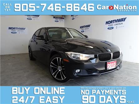 2013 BMW 3 Series 328i   XDRIVE   LEATHER   ROOF   NAV   M WHEELS! (Stk: P6380A) in Brantford - Image 1 of 26