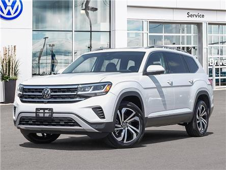 2021 Volkswagen Atlas 3.6 FSI Execline (Stk: A21066) in Sault Ste. Marie - Image 1 of 10