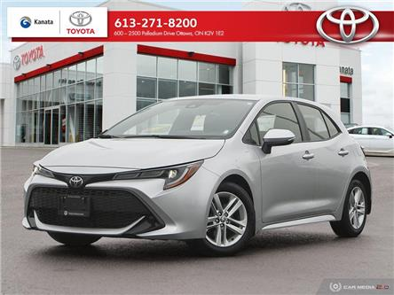 2019 Toyota Corolla Hatchback Base (Stk: B2989) in Ottawa - Image 1 of 29