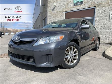 2011 Toyota Camry Hybrid PWR DRIVER SEAT, ALLOYS, PUSH BUTTON START, AUX, S (Stk: 48625C) in Brampton - Image 1 of 23